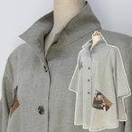 絣衣 和オーガニックコットン ジャケット