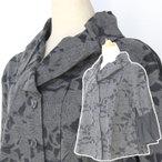 絣衣 プリント和綿ジャケット