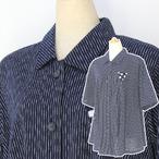 絣衣 しじら織り絣木綿 ジャケット