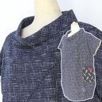 手づくり絣衣 かすり木綿 プルオーバー