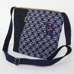 彩藍 久留米絣ショルダーバッグ