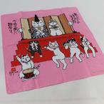 シャンタンチーフ 雛飾り 岡本肇