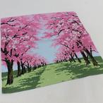 シャンタンチーフ 桜並木