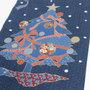 藍調綿タペストリー クリスマスツリー