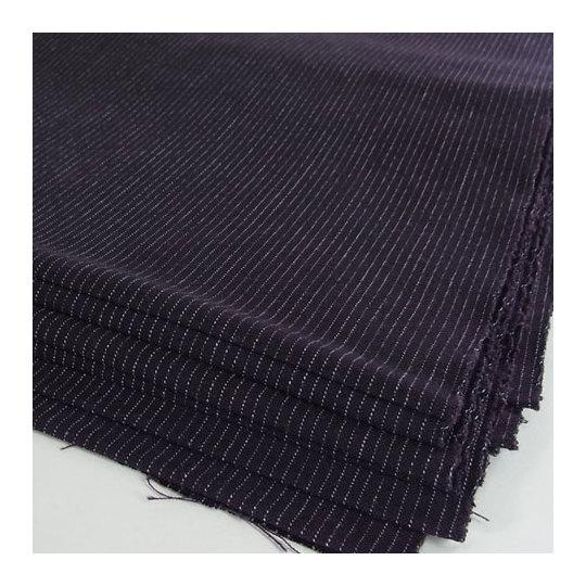 久留米絣 紺地白細縞 着尺 綿布地 和服地 洋服地 MT60058 スミヒコ商店|和の洋服・絣のリメイク品・和小物・和のインテリア・着物。きもの仕立ても承ります。|商品詳細